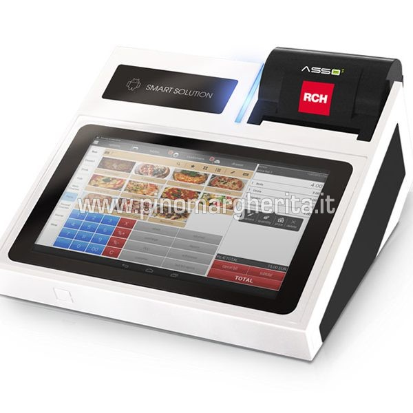 pos android sistema cassa touch screen 10 pollici