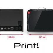 Stampante comande di rete print rch
