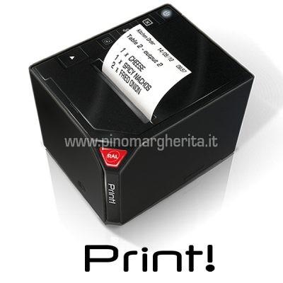 Stampante comande ethernet print rch